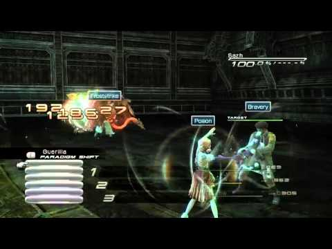 [Final Fantasy XIII][NMC] Mission 24 - Mushussu + Yakshini x2