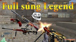 [ Bình luận CF ] Full bộ vũ khí Legend Dragon - Quang Brave