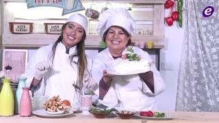 خاص بالفيديو- أرزة وبنتا تقدمان طبق Mamy Yammi