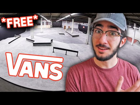 Why VANS Built A FREE Indoor Skatepark In NYC –Skate Space 198 Sesh & Discussion 🏁