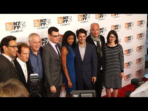 """Hamilton's America"" NYFF Premiere Behind The Velvet Rope with Arthur Kade"