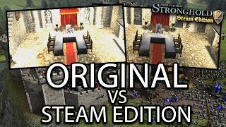 Stronghold 2: Steam Edition - Graphical Comparison