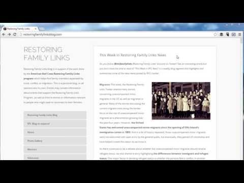 Restoring Family Links Public Web Inquiry