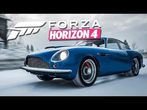Forza Horizon 4 // Астон Мартин БОНДА. Классический СЛИПЕР. thumbnail