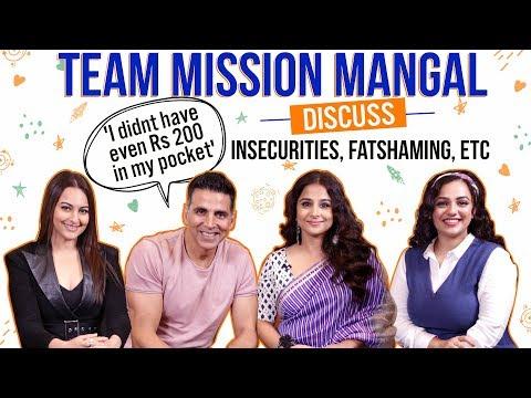 Akshay Kumar, Vidya Balan, Sonakshi Sinha, Nithya Menen's HILARIOUS banter   Mission Mangal