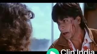 Shahrukh khan dialogue  i love you kiran   new whatsapp status 2018