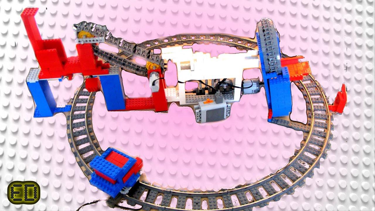 Lego Gbc V7 With Epic Train Youtube