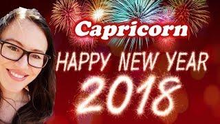 CAPRICORN January 2018 Horoscope. POWERFUL NEW LIFE BEGINNINGS and MANIFESTATIONS!