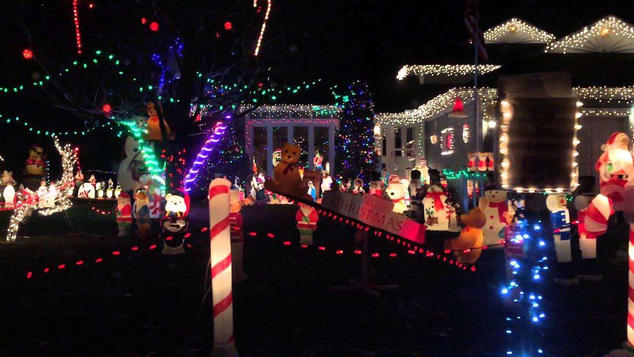 massive christmas light display in albertville mn