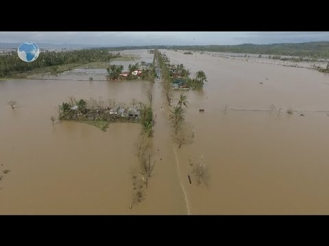 Christmas typhoon leaves three dead in Philippines