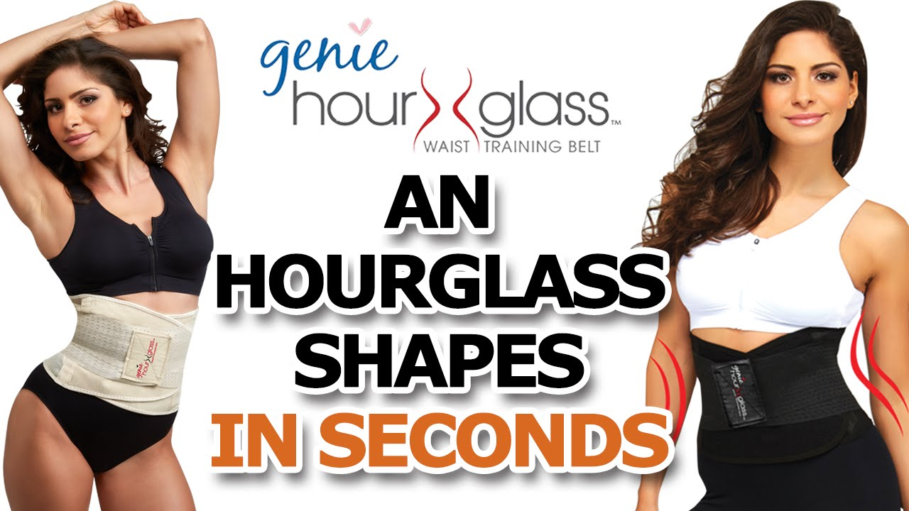 e59eb92364 Genie Hourglass WAIST TRAINING BELT - YouTube