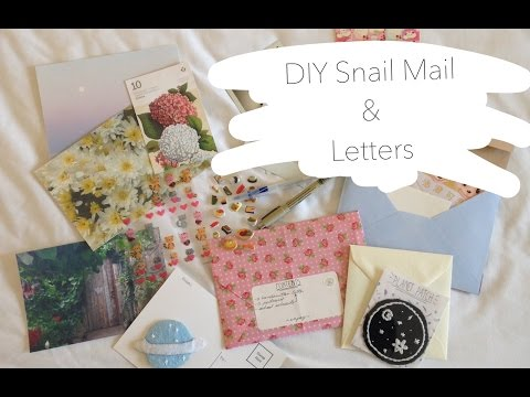 DIY Snail Mail & Letters