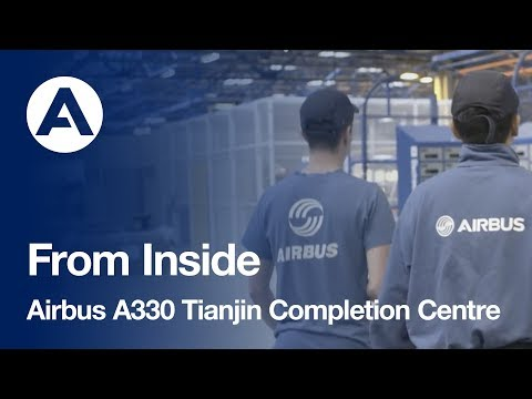 Airbus A330 Tianjin Completion Centre presentation by Julien Montcru