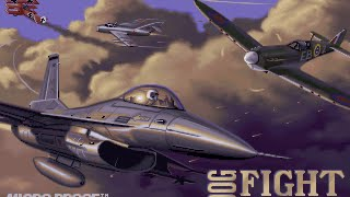 Dogfight:  80 Years of Aerial Warfare (Dos PC) / Microprose / 1993