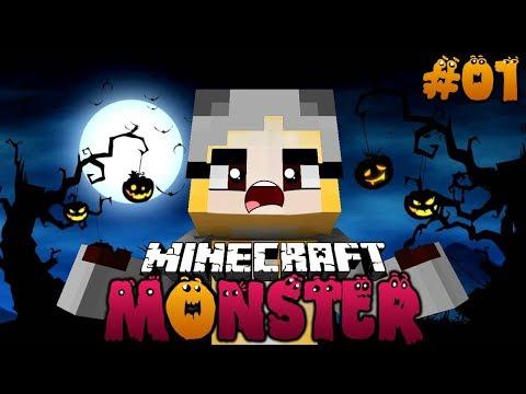WIR VERWANDELN UNS IN EIN MONSTER! ✿ Minecraft MONSTER #01 [Deutsch/HD] thumbnail