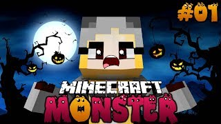 WIR VERWANDELN UNS IN EIN MONSTER! ✿ Minecraft MONSTER #01 [Deutsch/HD]