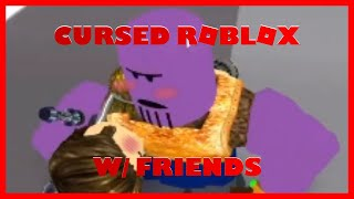 Cursed Roblox game w/ friends for no reason...