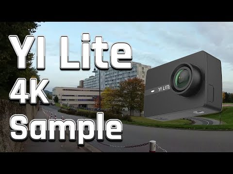 YI Lite Review / Test | 4K@20 Sample Footage