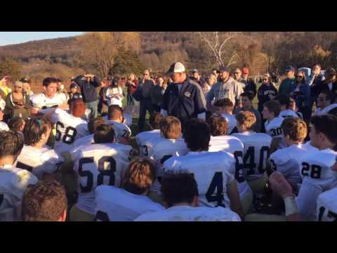 Old Tappan coach fires up team after upset win over Sparta