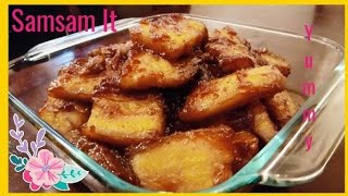 Sweet and savory  Pork Recipe  Samsam iT