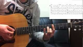 Altogether Alone BE THE VOICE Guitar Lesson