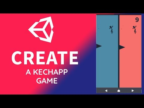 How To Create A Kechapp Game - Make Them Fall | Unity Tutorial thumbnail