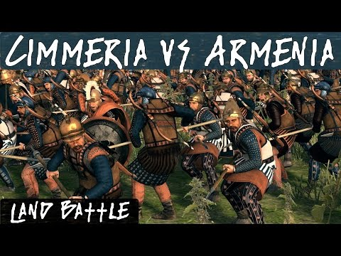 Total War Rome 2 Online Battle 203 Cimmeria Vs Armenia