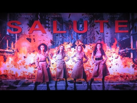 Little Mix - Salute Tour Performance Live - At The BIC, Bournemouth On 04/06/2014
