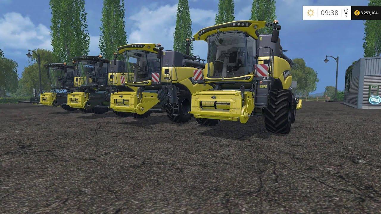 Farming Simulator 15 - Mod Spotlight - New Holland Combine Pack