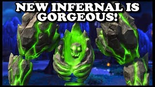 Grubby | Reforged Beta | New INFERNAL is GORGEOUS!