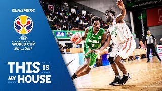 Cote d'Ivoire v Nigeria - Full Game - FIBA Basketball World Cup 2019 - African Qualifiers