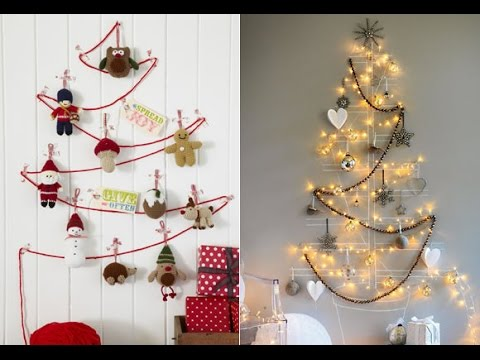 Como Hacer Un Arbol De Navidad Original Arboles De Navidad Faciles - Arbol-de-navidad-artesanal