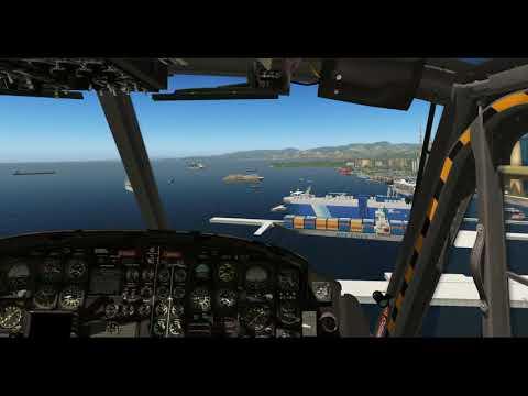 Bell-412 (X-Trident) -- Trinidad Freeware Scenery (TTPP) -- X-Plane 11.05