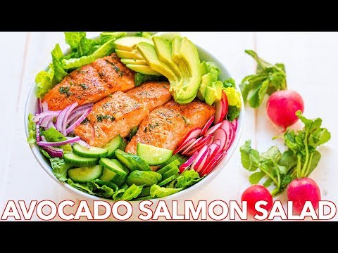 Easy �� Avocado Salmon Salad �� | Paleo or Keto Recipe
