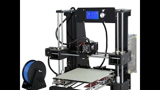 распаковка 2 го принтера anet a6 unboxing 3d fdm printer anet a6