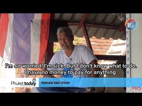 "Coping with the crackdown - Phuket's taxi drivers ""worried sick."""