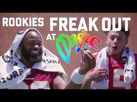 Rookies FREAK OUT At Magic!   NFL