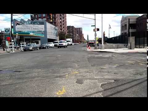 Out Of State Buffing: New Jersey Transit Police Responding In Hoboken, New Jersey