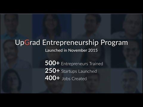 UpGrad Entrepreneurship Certificate Program - How you can start-up ...