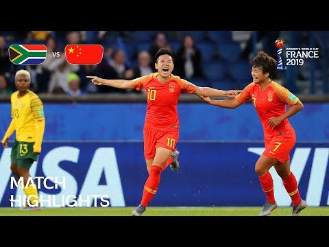 South Africa v China PR | FIFA Women's World Cup France 2019 | Match Highlights