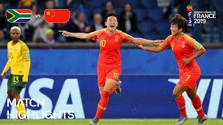 South Africa v China PR - FIFA Womens World Cup France 2019