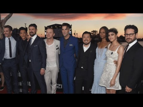 ET's Kevin Frazier Hosts 'Star Trek Beyond' San Diego Premiere