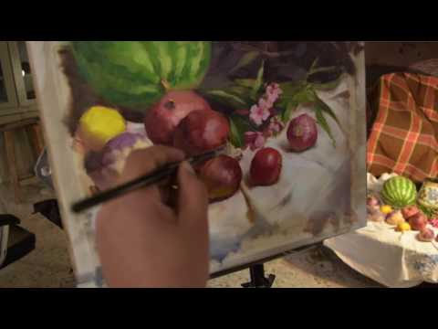 Still Life Painting With Ghassan Dawood