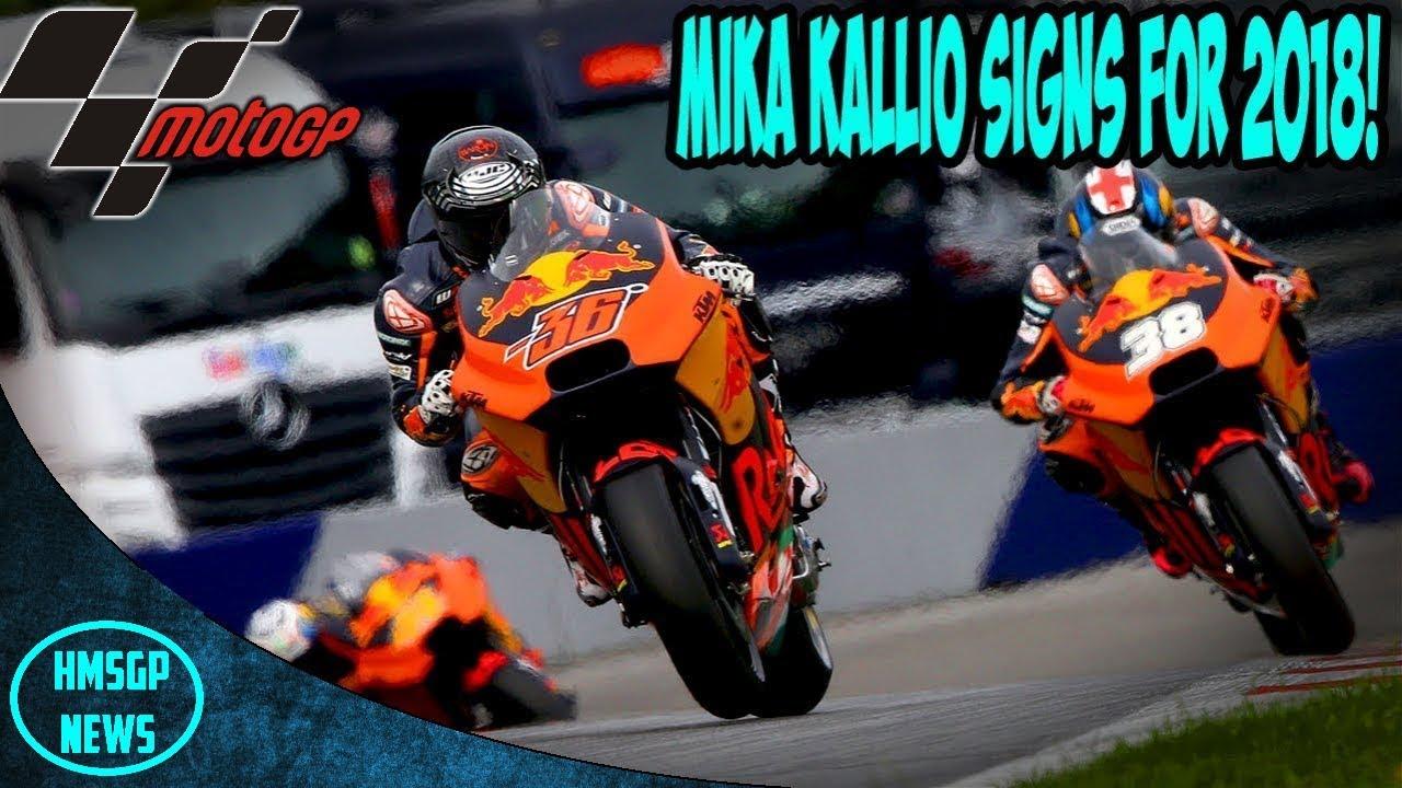 Motogp News Mika Kallio Signs For Red Bull Ktm  Test Rider