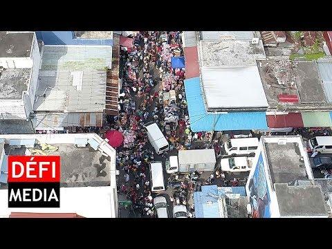 Shopping de Noël : les rues de Port-Louis prises d'assaut