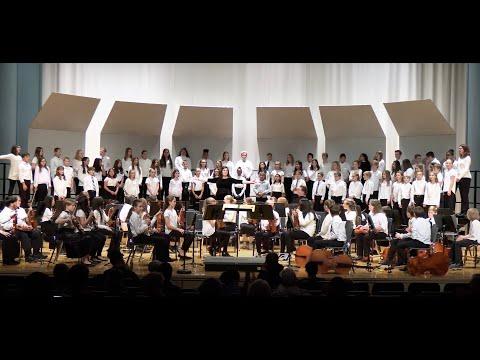 Northfield Middle School Virtual Choir Concert, Spring 2020