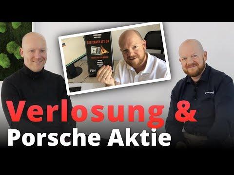 Verlosung Florian Homm & Interview über Porsche Aktie mit Swen Lorenz