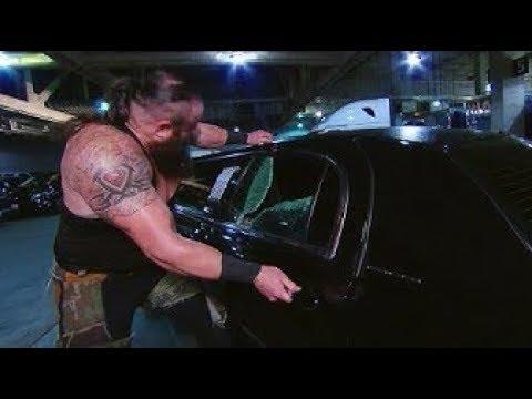 Braun Strowman Destroys Vince Mcmahon's Car |  WWE Raw 14 January 2019 Highlights |