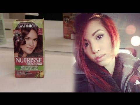 My Hair Dying Routine Medium Intense Auburn Youtube
