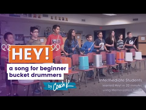 Hey! for Beginning Buckets – Intermediate Students